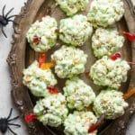 Fast & Easy Popcorn Balls for Halloween