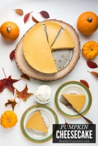 Pumpkin Cheesecake title image
