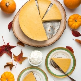 Pumpkin Cheesecake title image