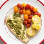 Rainbow Trout with Salsa Verde Sauce
