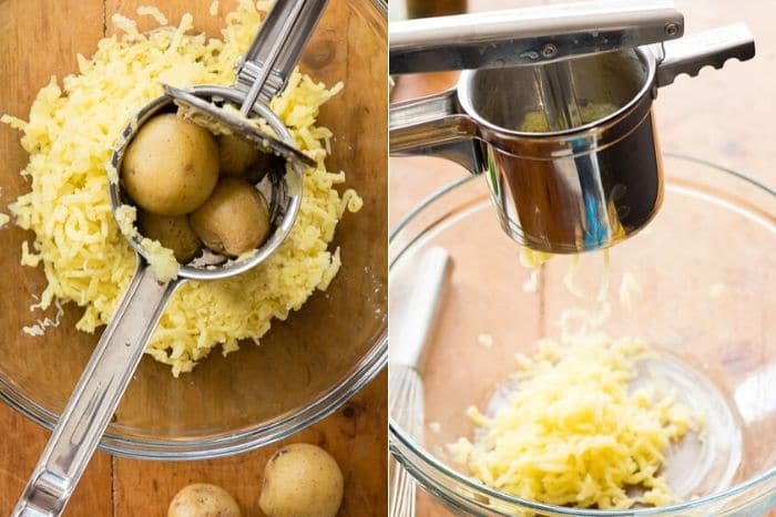 How to Use a Potato Ricer photo collage