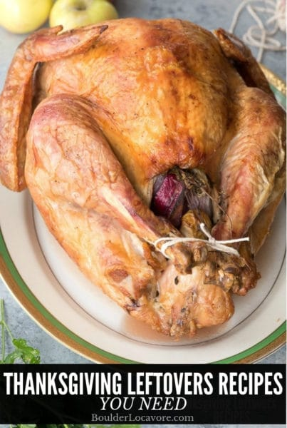 Thanksgiving Leftovers Recipes title