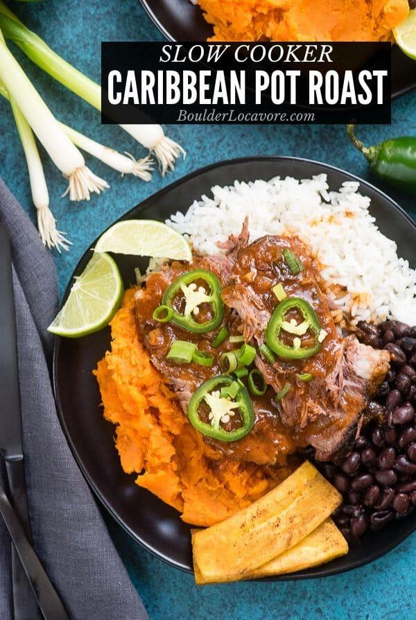 Caribbean Slow Cooker Pot Roast