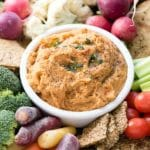 5-Minute Smoked Paprika Garlic Bean Dip