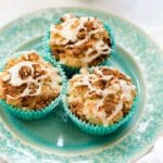Coffee Cake Muffins with Fresh Orange Glaze