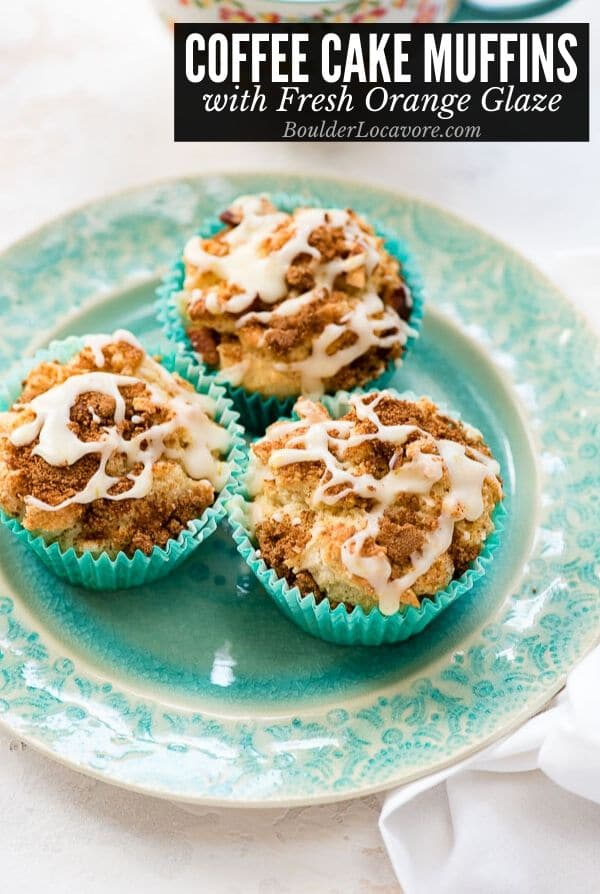 Coffee Cake muffins title