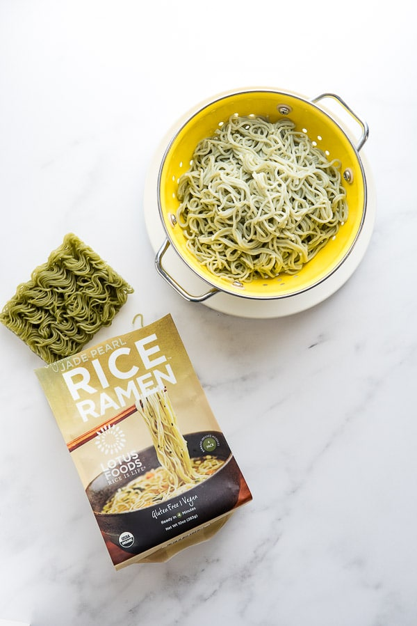 Gluten-Free Rice Ramen for Dragon Shrimp Noodles - BoulderLocavore.com 9113
