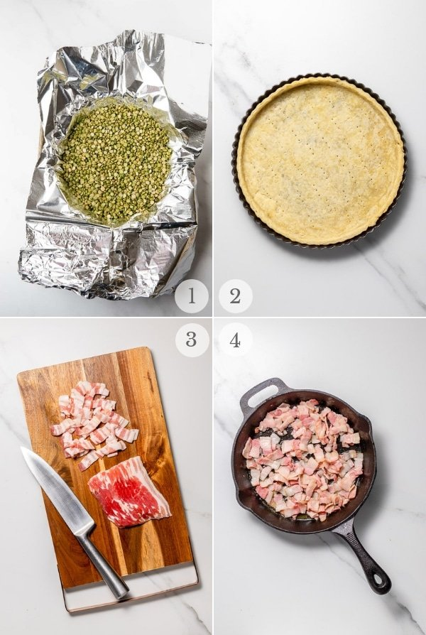 Quiche Lorraine recipe steps 1