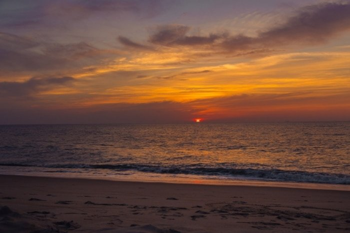 Best East Coast Beaches - Bethany Beach Delaware sunrise