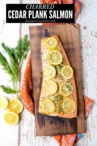 Cedar Plank Salmon title image