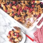 Overnight French Toast Casserole title