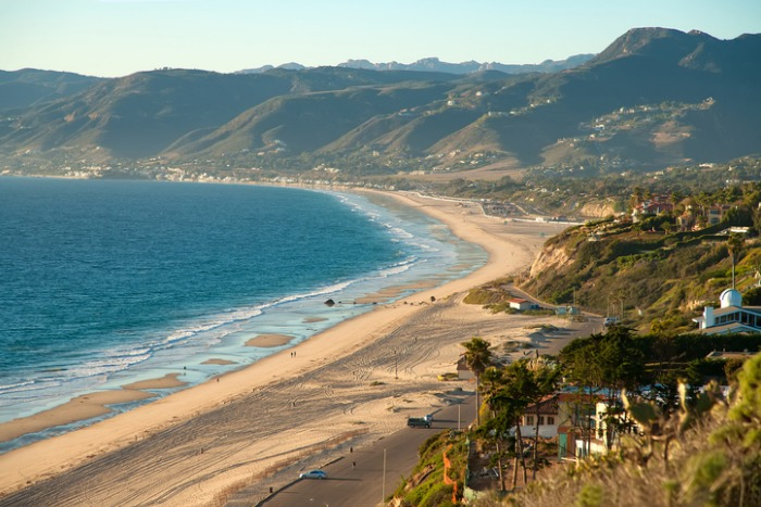 Zuma Beach California in Malibu