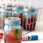 Firecracker Punch: A Fruity Fizzy Punch with a Bang!