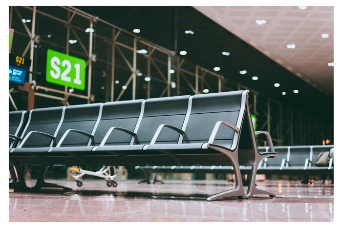 airport lounge seats for GateGuru travel app