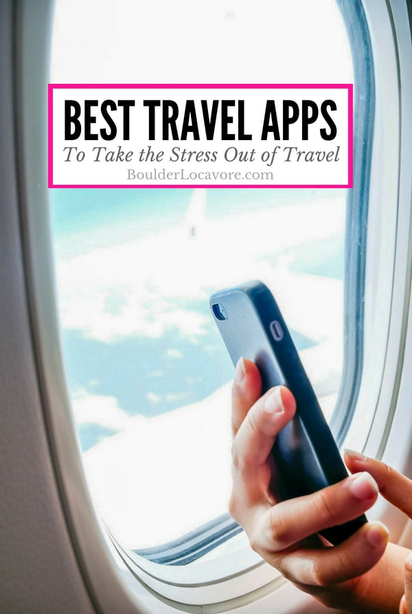 The Best Travel Apps to Take the Stress Out of Travel. Great apps to cover all travel needs so you can concentrate on having fun. #travel #travelapp #smartphoneapp