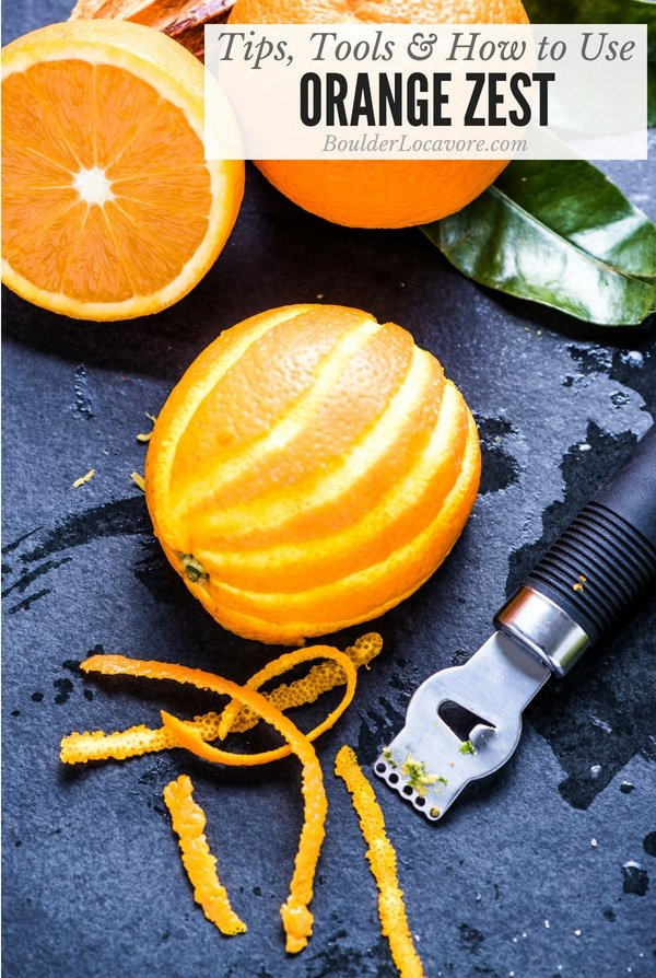 Tips Tools And How To Use Orange Zest This Simple Ing Can Be Used