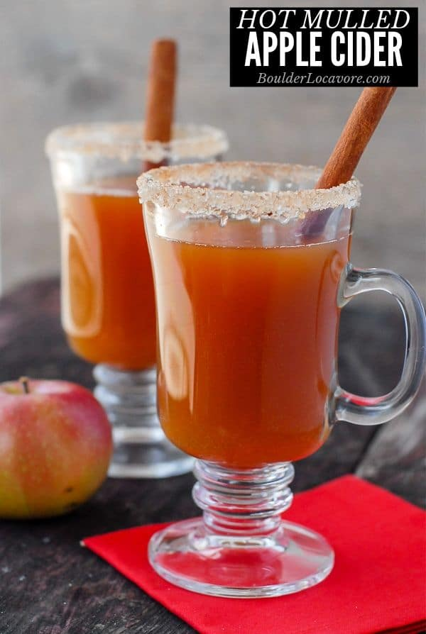 Hot Mulled Apple Cider cocktail