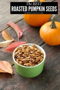 Roasted Pumpkin Seeds title image