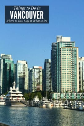 Things to Do in Vancouver - titled image