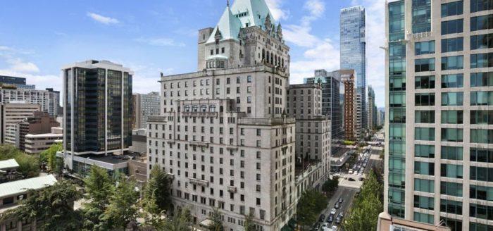 Fairmont Hotel Vancouver BC