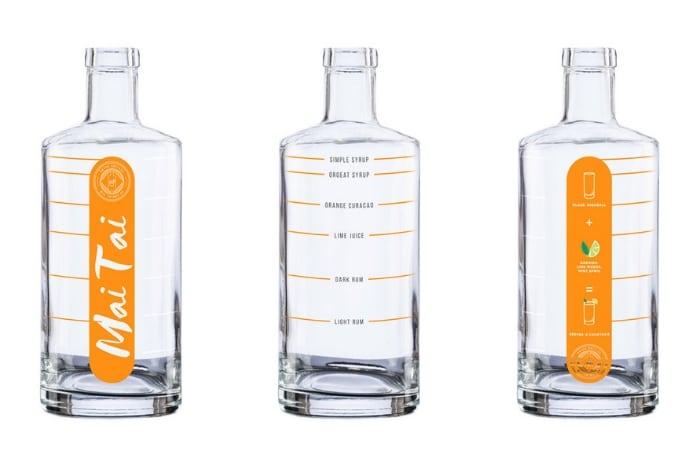 Batch Bottles Mai Tai bottle