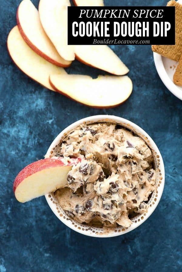 Cookie Dough Dip title image
