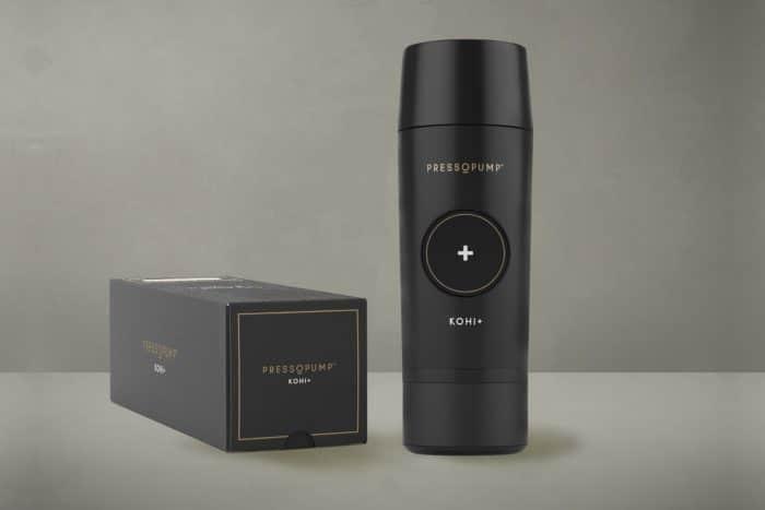 Pressopump portable espresso maker