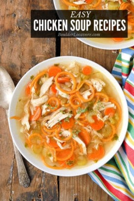 Easy Chicken Soup Recipes title