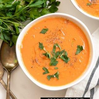 Homemade Tomato Soup title image