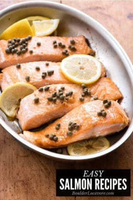 Easy Salmon Recipes title image