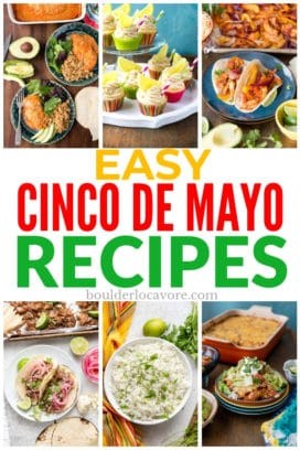 Cinco de Mayo recipes title image