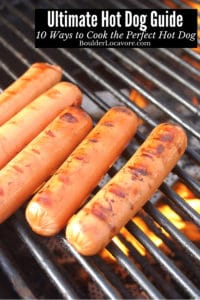 Ultimate Guide How to Cook Hot Dogs title image