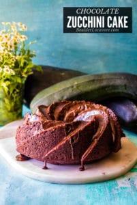 Chocolate Zucchini Cake title image