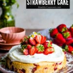 Strawberry Cake: an Easy Summer Cake Recipe
