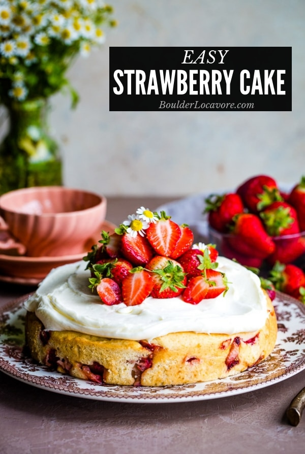 Strawberry Cake title image