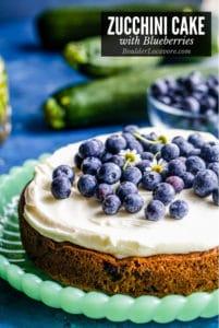 Zucchini Cake title image