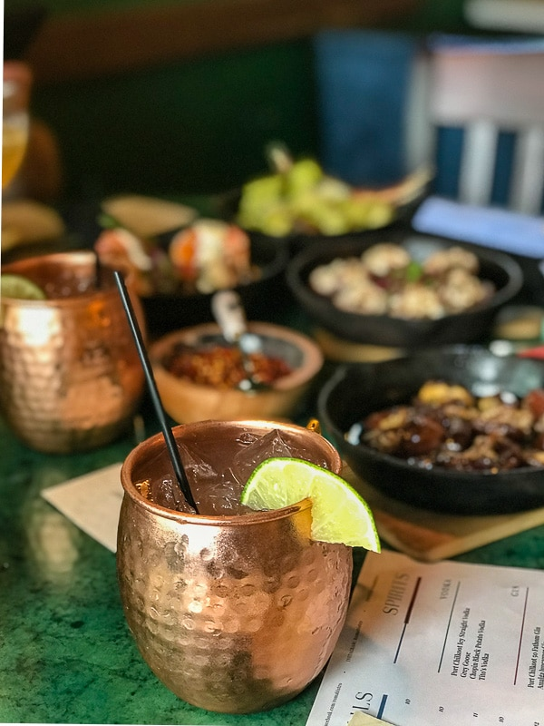 roma bistro moscow mule