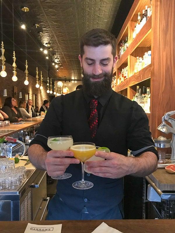 the narrows bartender
