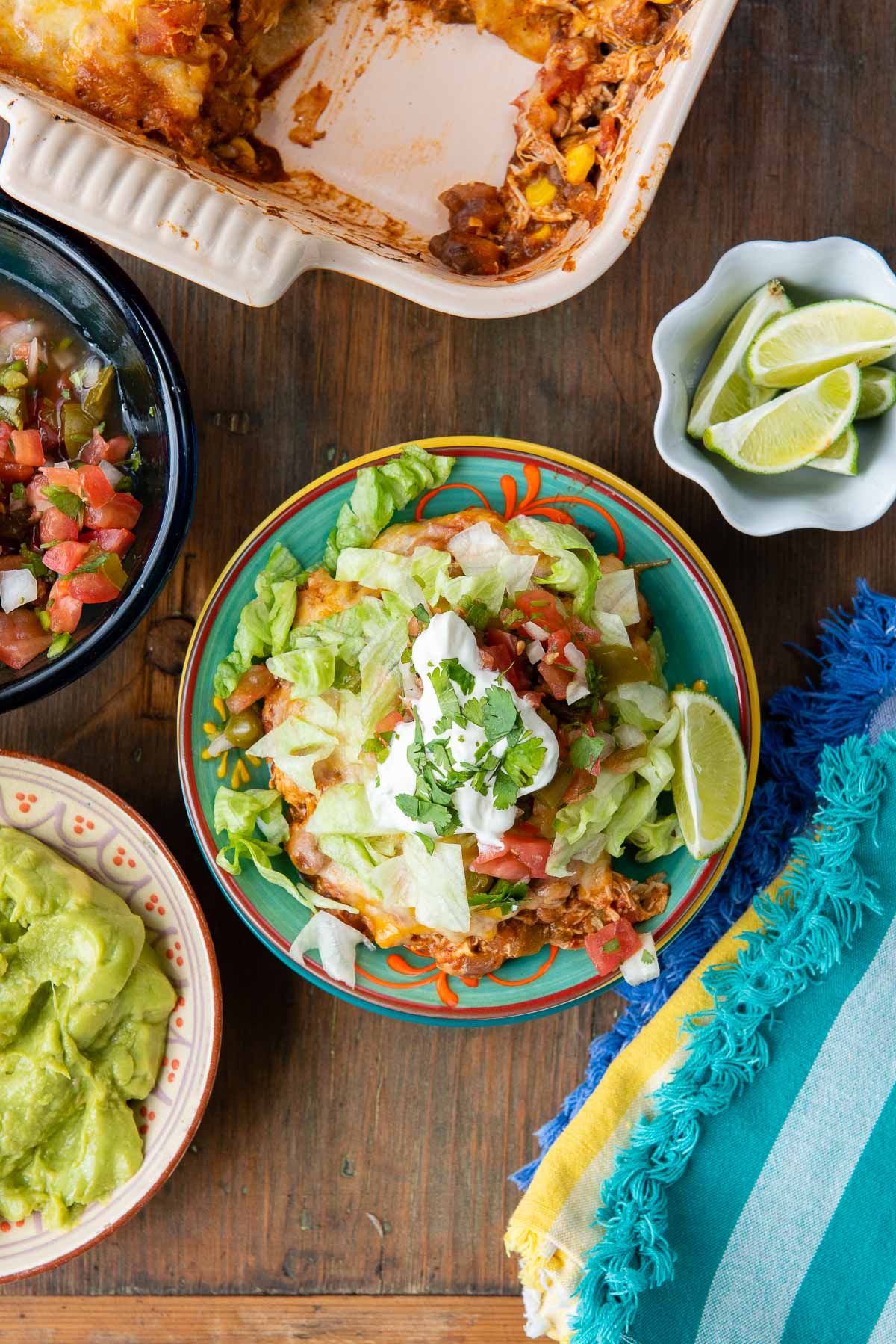 mexican chicken casserole from above