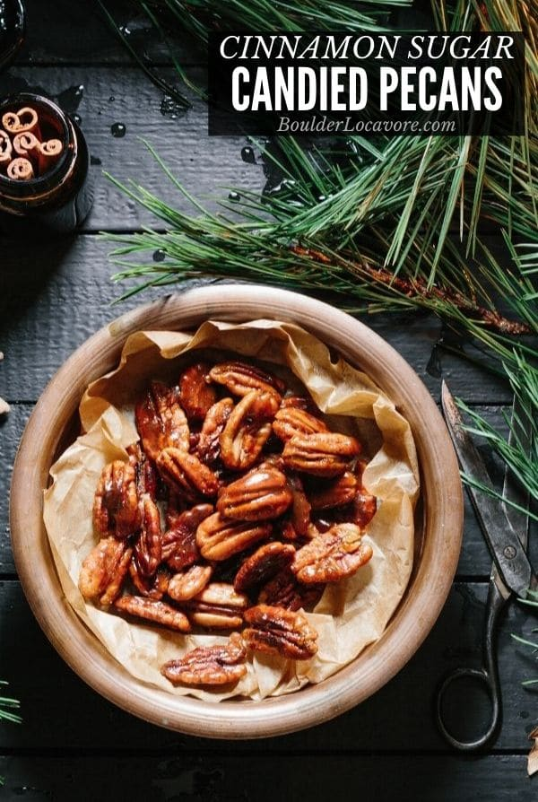 Candied Pecans title image