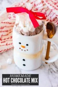 Homemade Hot Chocolate mix title