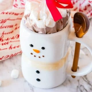 Homemade Hot Chocolate mix title