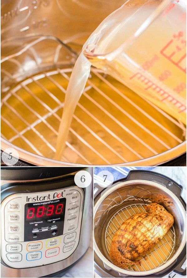 Instant Pot Turkey Breast recipes steps 2