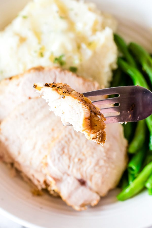 instant pot turkey breast bite