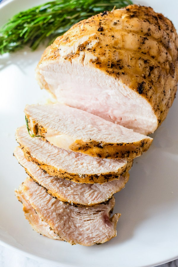 turkey breast sliced