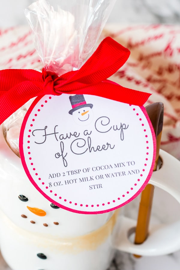 printable gift tags for hot cocoa mix