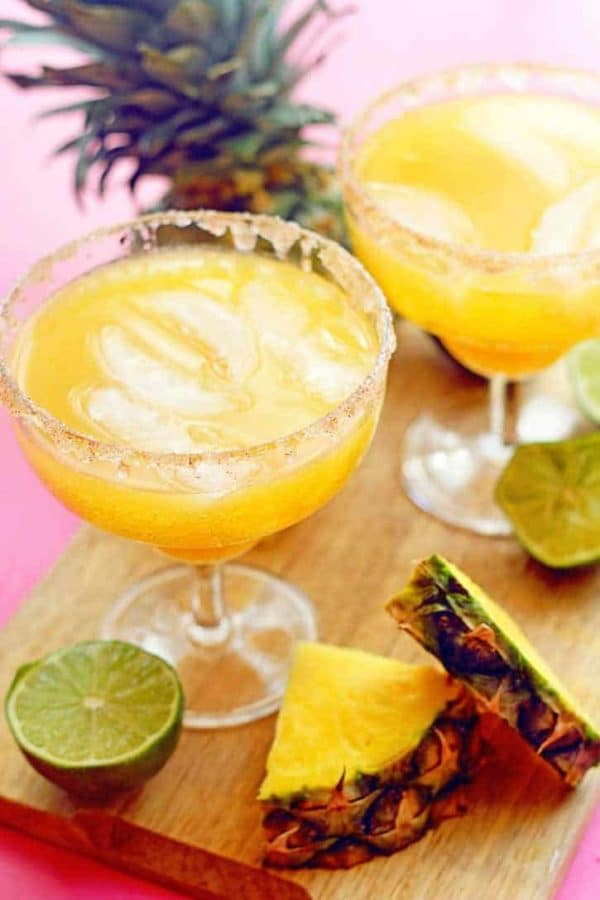 Pineapple-Mocktail-Margarita