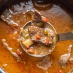 Mexican Green Chile Steak Soup (Cadillo)