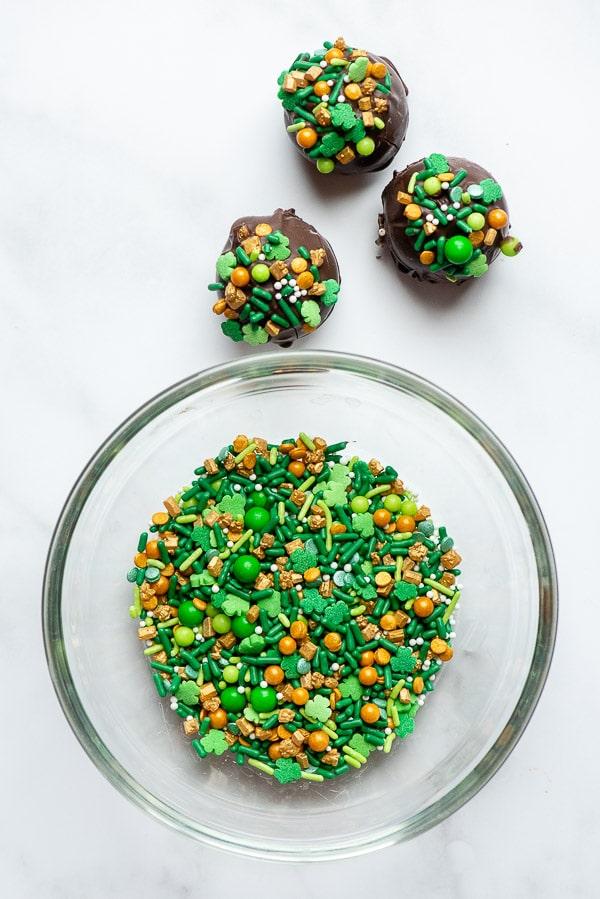St Patrick's Day sprinkles
