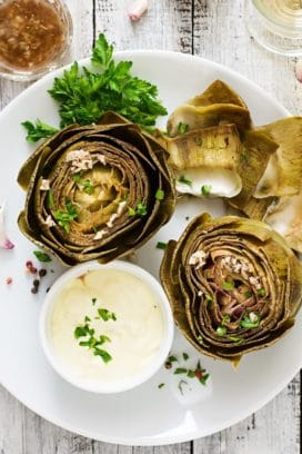 artichoke dipping sauces